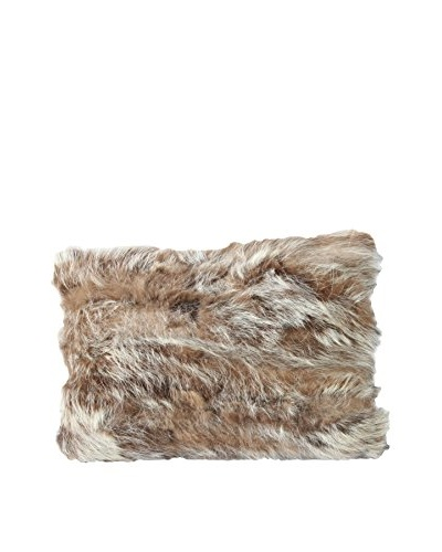 Upcycled Bear Pillow, Cream, 12 x 18