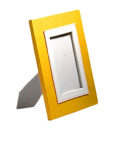 "Photo Frame, Yellow, 5"" x 7"""