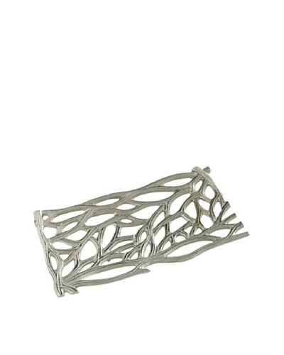 Branches II Tray, Silver