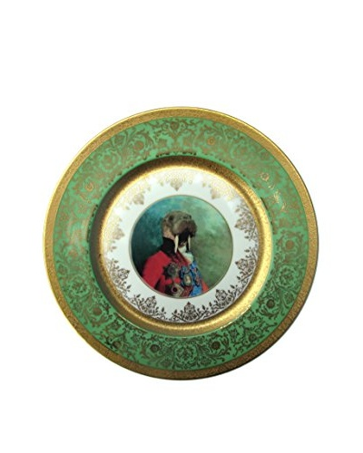 Sir Odobenus Rosmarus Limited Edition Antique Wall Plate