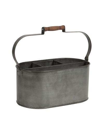 Galvanized Utensil Basket