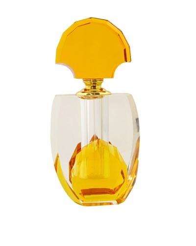 Crystal Flared Perfume Bottle
