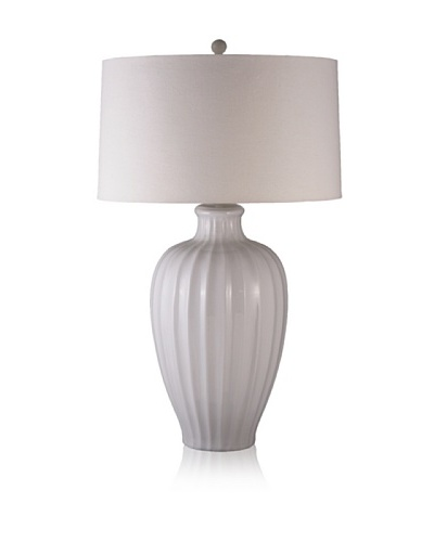 Lighting Accents Porcelain Table Lamp, White