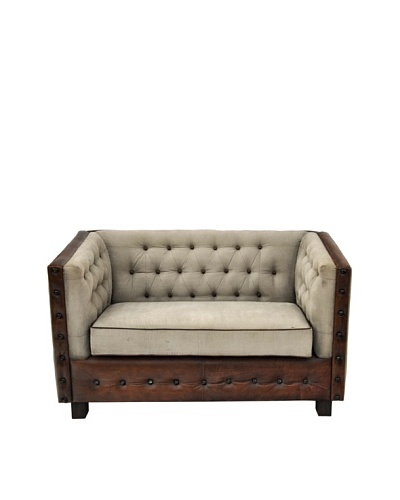 Winslow Sofa, Natural/Brown
