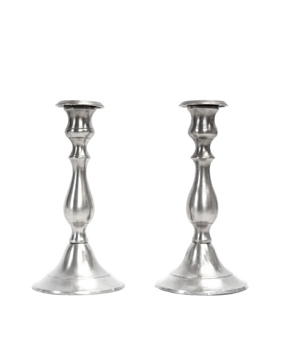 Vintage Sterling Silver Candlestick Holders, c.1940s