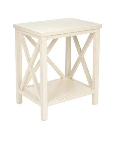 Safavieh Candence Cross-Back End Table