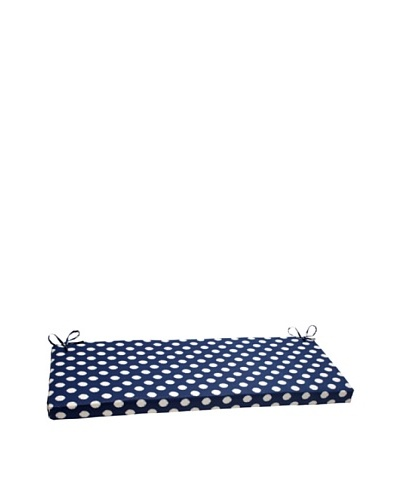 Waverly Sun-n-Shade Solar Spot Pool Bench Cushion [Navy/Cream]
