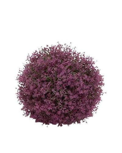 Faux Purple Flower 8 Filler Ball