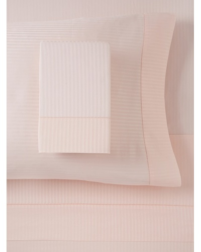 300 TC Satin Stripe Sheet Set, Rose, King