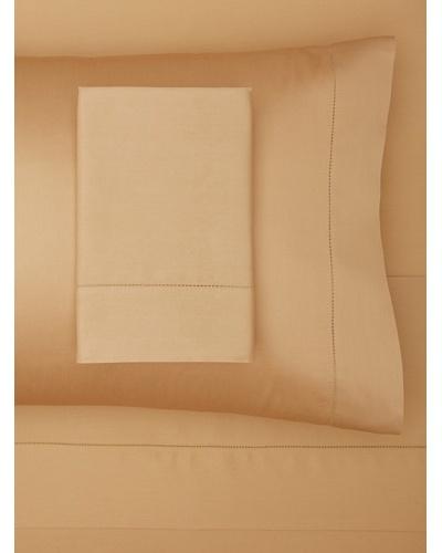 Hemstitched Sateen Sheet Set