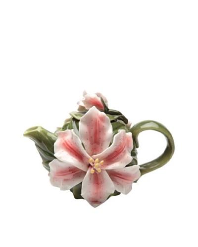 Porcelain Lily Teapot