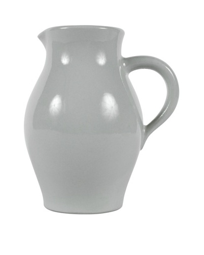 Petite Ceramic Milk Pitcher, Grey