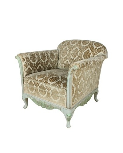 French Parlour Chair, Gray