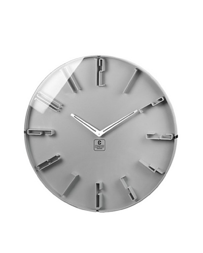 Raised Numbers Wall Clock, 16