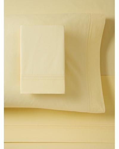 500 TC Percale Sheet Set, Yellow, King