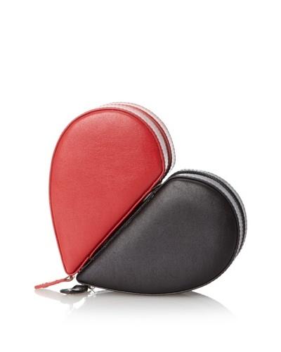 Juliette Heart Case Pair, Red/Black