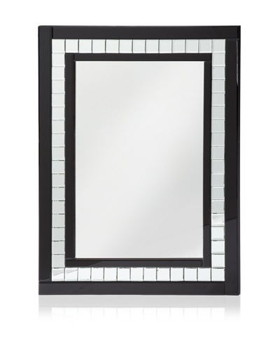 Black Diamond Cut Mirror