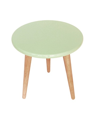Lacquer Stools, Mint Green