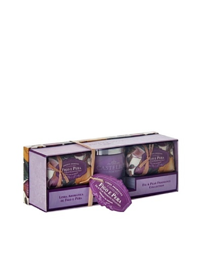 Castelbel Ambiante Fig & Pear Soap & Candle Gift Set