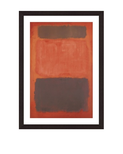 Mark Rothko's Brown and Black in Reds, 1957 Giclée Print