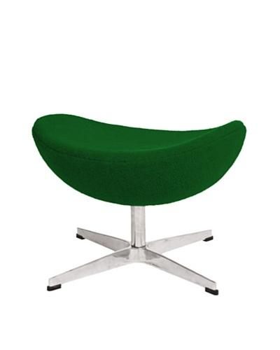 Inner Wool Ottoman, Green