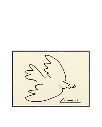 Pablo Picasso Dove of Peace Framed Art