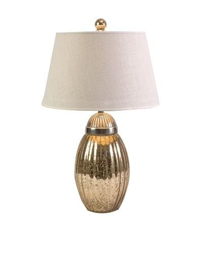 Fowler Ribbed Glass Lamp