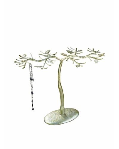 Antique Silver Jewelry Tree
