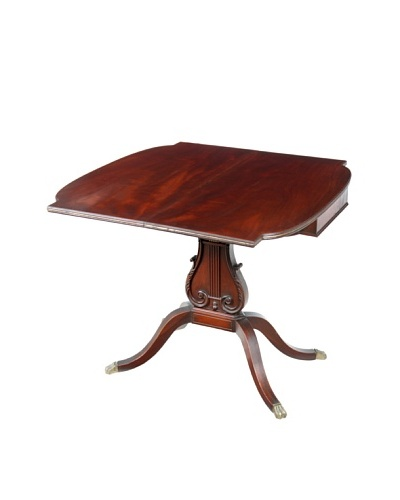 English Game Table, Brown