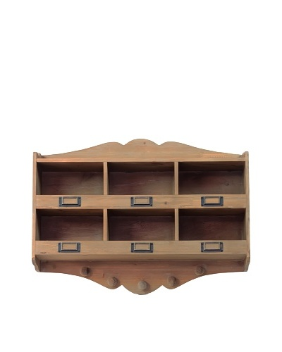 Wooden Labeler Shelf