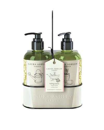 Laura Ashley Gardner's Collection 10.2-Oz. Exfoliating Hand Wash & Lotion Caddy Set