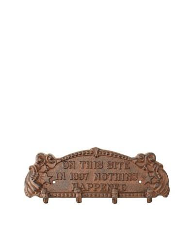 1897 Plaque, Brown/Black