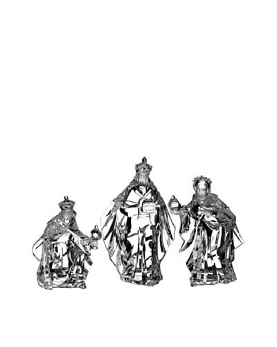 Set of 3 Faux Crystal Wiseman Set