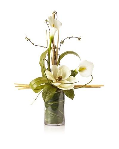 Magnolia Lily Vase