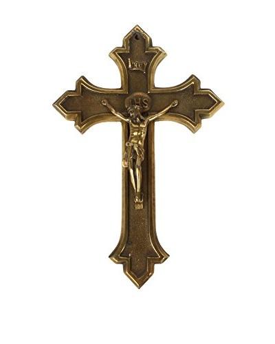 Halle Belgian Crucifix, Gold