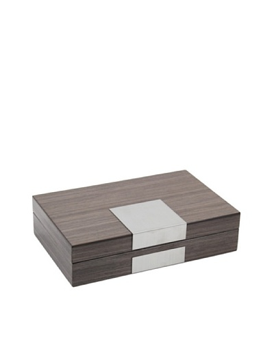 Lacquered Wood Valet, Grey