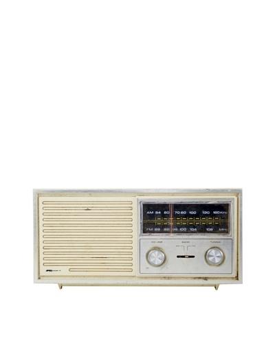 Vintage K-Mart Radio, Cream