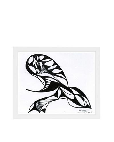 Manuel Roman The Sting Framed Art, Black/White