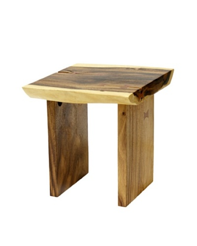 Plank-Top End Table [Natural]