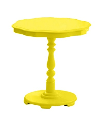 Timeless Round Table, Yellow