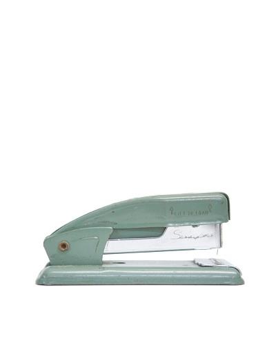 Vintage Stapler, Seafoam