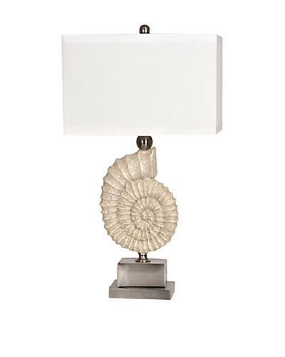 Maritime Table Lamp, Sandstone/Brushed NickelAs You See