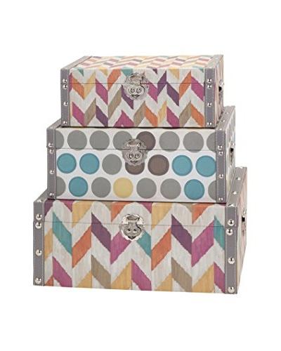 Set of 3 Confetti Boxes