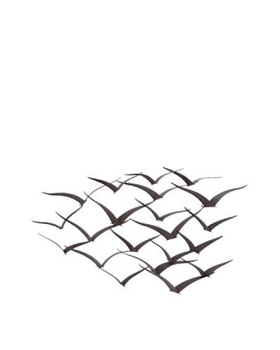 Flock of Birds Wall Installation