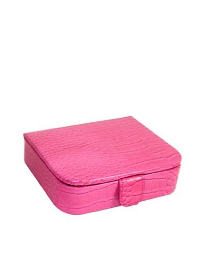 Travel Leather Jewelry Storage, Pink
