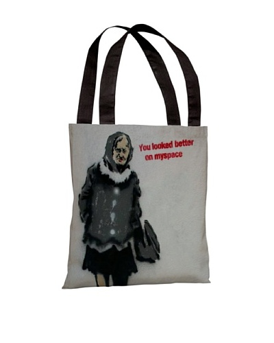 Banksy Myspace Tote Bag