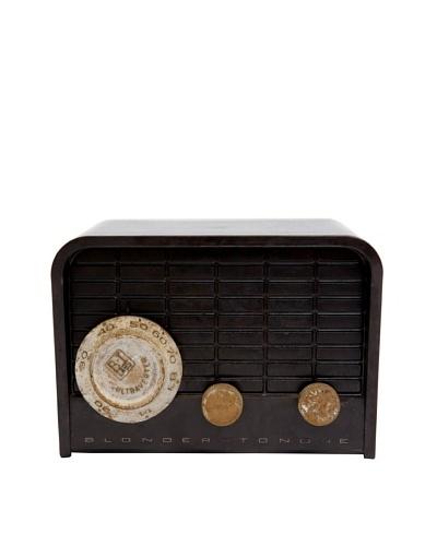 Vintage Blonder Tongue Radio, Dark Brown