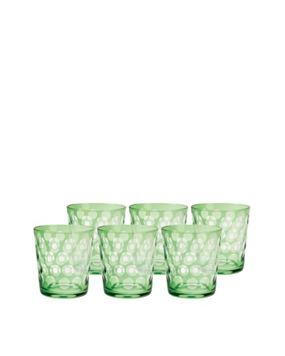 Set of 6 Melrose Rocks Glasses