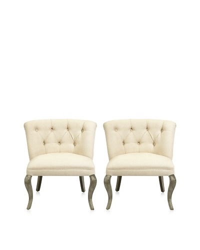Set of 2 Rhetta Accent Chairs