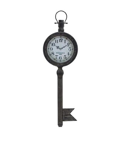 Key Clock Wall Hanging